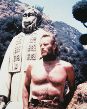 This is an image of 215318 Charlton Heston Photograph & Poster
