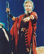 This is an image of 216190 Charlton Heston Photograph & Poster
