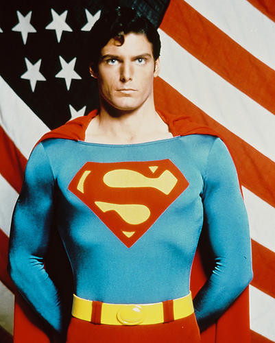 This is an image of 216626 Christopher Reeve Photograph & Poster