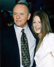 This is an image of 246464 Anthony Hopkins & Julianne Moore Photograph & Poster