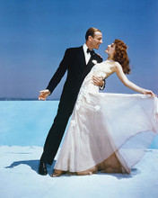 This is an image of 220973 Fred Astaire & Rita Hayworth Photograph & Poster