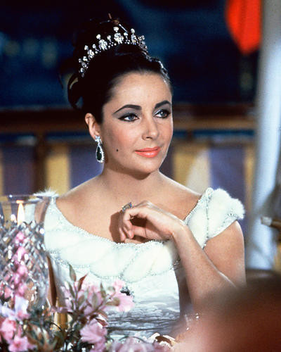 This is an image of 221850 Elizabeth Taylor Photograph & Poster