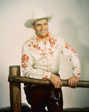 This is an image of 223467 Gene Autry Photograph & Poster