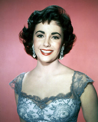 This is an image of 224161 Elizabeth Taylor Photograph & Poster
