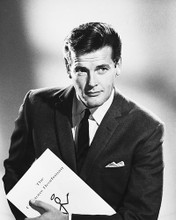This is an image of 168983 Roger Moore Photograph & Poster