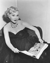 This is an image of 169698 Zsa Zsa Gabor Photograph & Poster