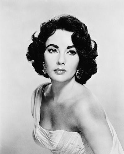 This is an image of 170027 Elizabeth Taylor Photograph & Poster