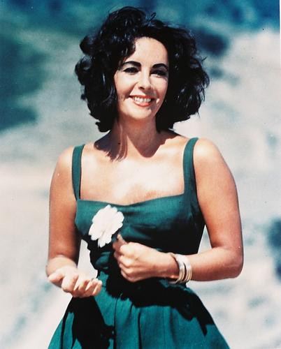 This is an image of 210328 Elizabeth Taylor Photograph & Poster