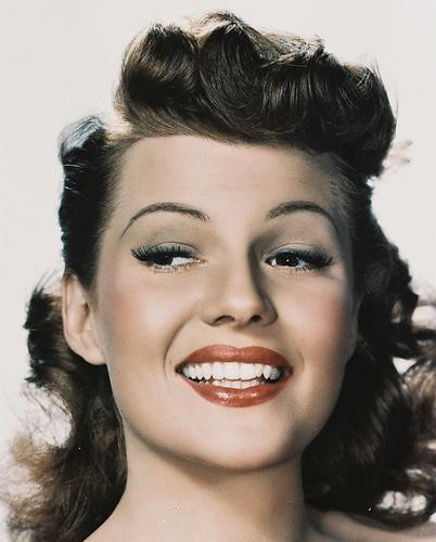 This is an image of 212087 Rita Hayworth Photograph & Poster