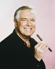 This is an image of 212133 George Peppard Photograph & Poster
