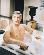 This is an image of 212519 George Peppard Photograph & Poster