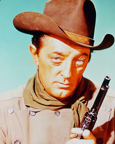 This is an image of 226699 Robert Mitchum Photograph & Poster