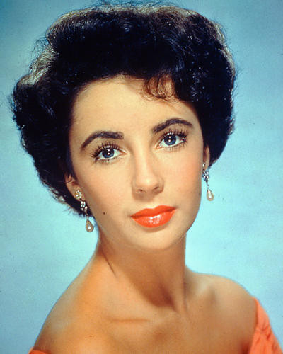 This is an image of 226821 Elizabeth Taylor Photograph & Poster