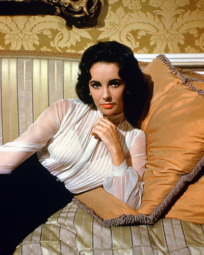This is an image of 226825 Elizabeth Taylor Photograph & Poster