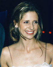 This is an image of 248411 Sarah Michelle Gellar Photograph & Poster