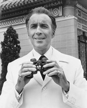This is an image of 171096 Christopher Lee Photograph & Poster