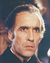 This is an image of 218377 Christopher Lee Photograph & Poster