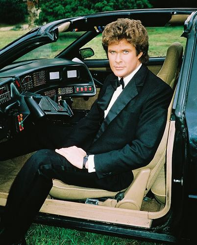 This is an image of 219121 David Hasselhoff Photograph & Poster