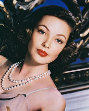 This is an image of 220768 Gene Tierney Photograph & Poster