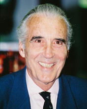 This is an image of 223189 Christopher Lee Photograph & Poster