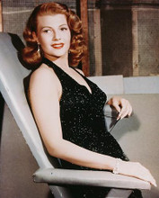 This is an image of 227883 Rita Hayworth Photograph & Poster