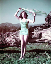 This is an image of 248982 Jeanne Crain Photograph & Poster