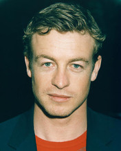 This is an image of 249105 Simon Baker Photograph & Poster