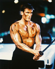 This is an image of 28324 Dolph Lundgren Photograph & Poster