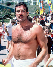 This is an image of 249975 Tom Selleck Photograph & Poster