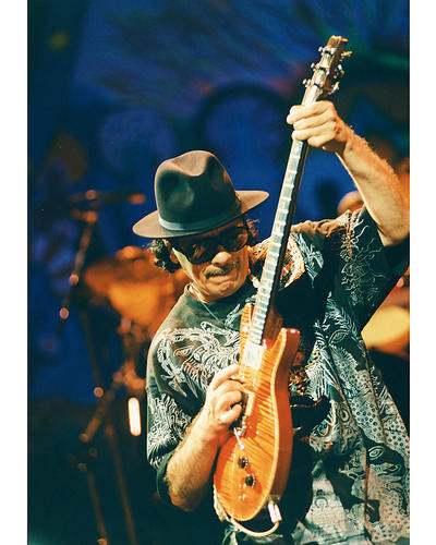 This is an image of 251754 Carlos Santana Photograph & Poster