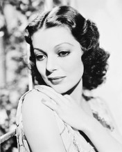 This is an image of 167940 Loretta Young Photograph & Poster