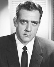 This is an image of 171744 Raymond Burr Photograph & Poster