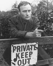 This is an image of 172066 Edward Woodward Photograph & Poster
