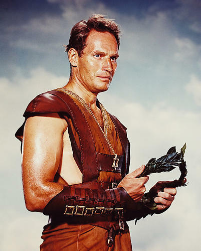 This is an image of 233916 Charlton Heston Photograph & Poster