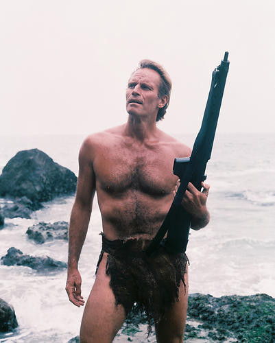 This is an image of 233932 Charlton Heston Photograph & Poster