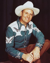 This is an image of 234460 Gene Autry Photograph & Poster