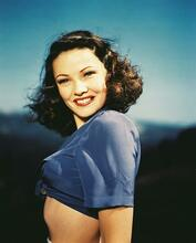 This is an image of 235210 Gene Tierney Photograph & Poster
