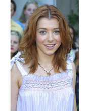 This is an image of 253785 Alyson Hannigan Photograph & Poster