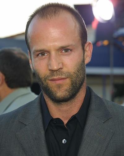 This is an image of 253911 Jason Statham Photograph & Poster