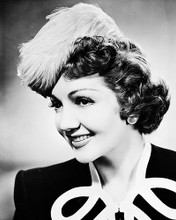 This is an image of 168926 Claudette Colbert Photograph & Poster