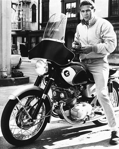 This is an image of 172259 Steve McQueen Photograph & Poster