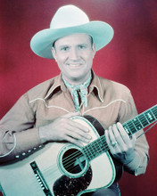 This is an image of 238700 Gene Autry Photograph & Poster