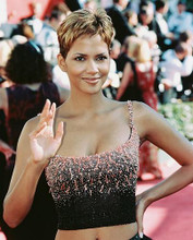 This is an image of 239116 Halle Berry Photograph & Poster