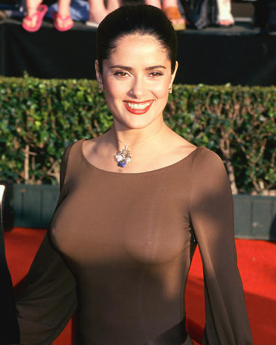 This is an image of 255013 Salma Hayek Photograph & Poster