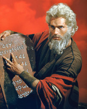 This is an image of 255020 Charlton Heston Photograph & Poster