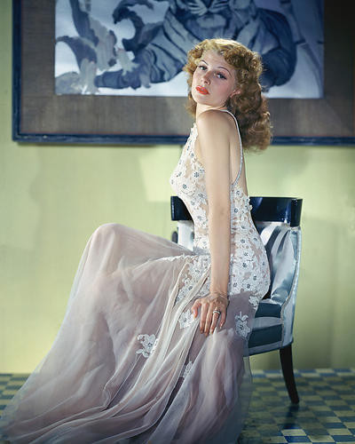 This is an image of 255302 Rita Hayworth Photograph & Poster