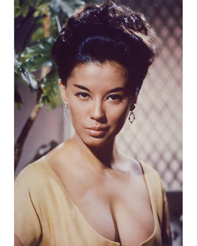 This is an image of 255402 France Nuyen Photograph & Poster