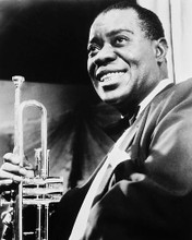 This is an image of 169796 Louis Armstrong Photograph & Poster