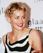 This is an image of 241035 Sharon Stone Photograph & Poster