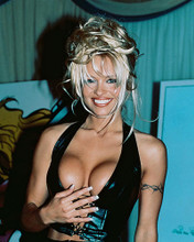 This is an image of 241644 Pamela Anderson Photograph & Poster